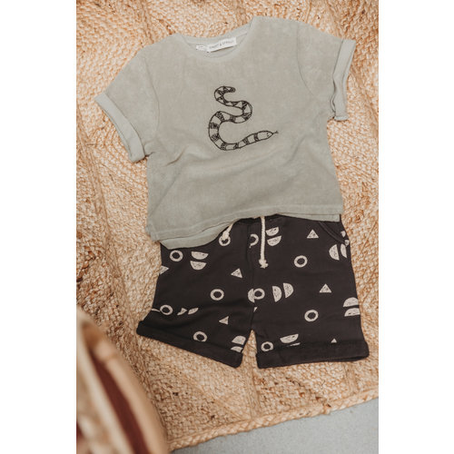 Sproet & Sprout Sproet & Sprout   Short Print Abstract   Zwart