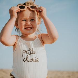 Sproet & Sprout Sproet & Sprout | Tanktop Rib Petite Cherie | Sesam topje