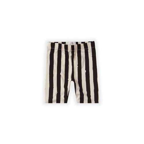 Sproet & Sprout Sproet & Sprout | Short Legging | Painted Stripe off-white