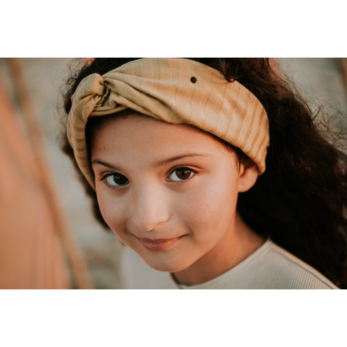 Sproet & Sprout Sproet & Sprout | Turban Headband Dots Desert