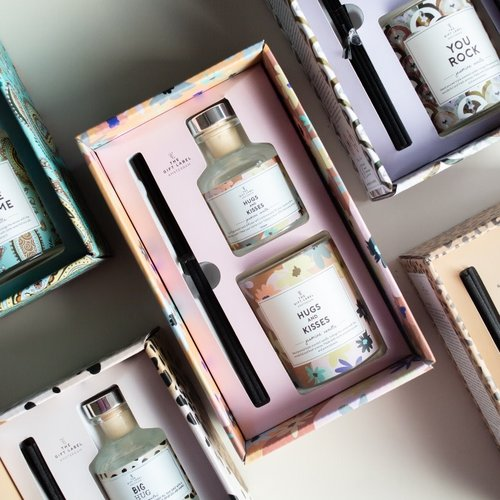 The Gift Label The Gift Label | Gift Box | Candle & Reed diffuser