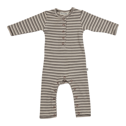Blossom Kids Blossom Kids | Playsuit soft rib Stripes | Boxpakje