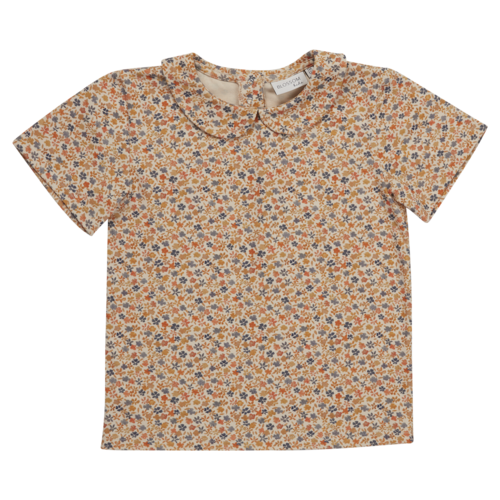 Blossom Kids Blossom Kids | Peterpan shirt SS | Aquarel flower
