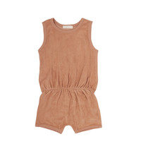 Phil & Phae | Frotté terry playsuit | Warm biscuit