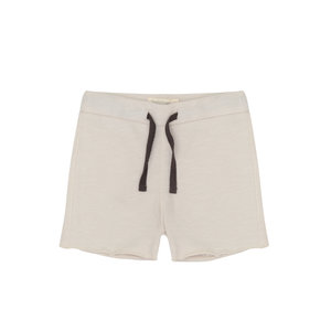 Phil & Phae Phil & Phae | Raw-edged sweat shorts | Oatmeal
