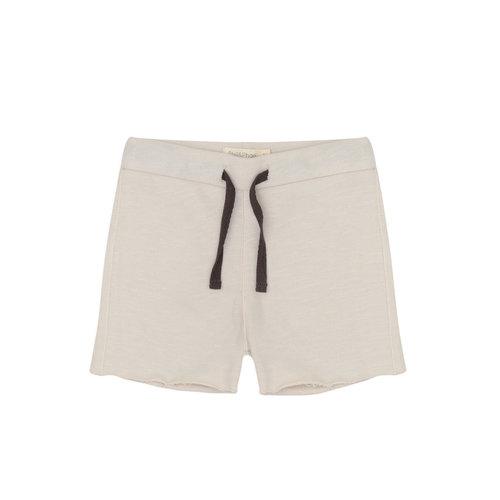 Phil & Phae Phil & Phae | Raw-edged sweat shorts | Oatmeal
