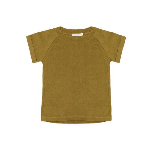 Phil & Phae Phil & Phae   Frotté raglan terry t-shirt   Pear green