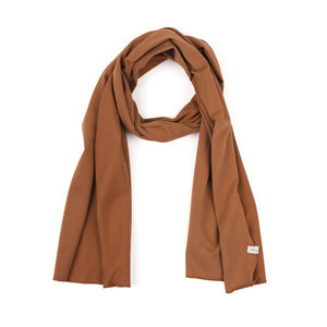 Phil & Phae Phil & Phae | Basic scarf | Sjaal hazel brown