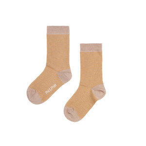 Phil & Phae Phil & Phae | Striped socks | Golden