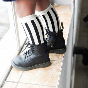 House of Jamie House of Jamie | Knee Socks | Referee stripe