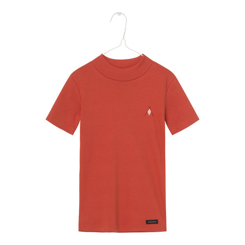 A Monday A Monday | Agnes rib t-shirt | Summig Fig red