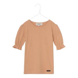 A Monday A Monday | Ibi pointelle t-shirt | Peach bloom