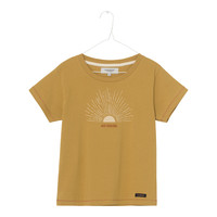 A Monday   Sun t-shirt   Arrowwood yellow