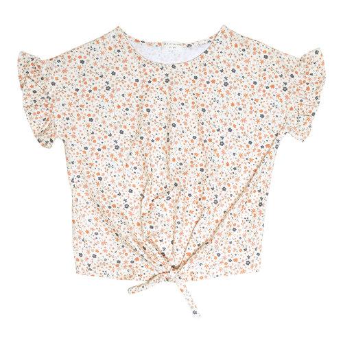 Petit Blush Petit Blush | Knot t-shirt | Floral