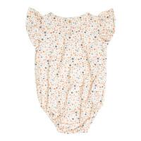 Petit Blush   Lily frill bodysuit   Floral