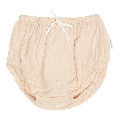 Petit Blush Petit Blush | Teddie muslin Bloomer | Sandshell