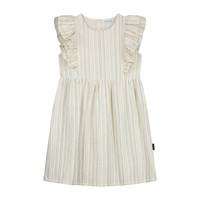Daily Brat | Gina dress | Mellow blush wit met strepen
