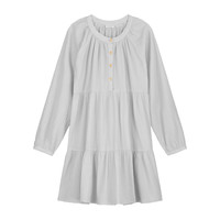Daily Brat | Rae dress | Pearl lichtgrijs/blauw