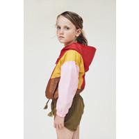 A Monday   Mio Anorak Jacket   Roze-rood-bruin-geel