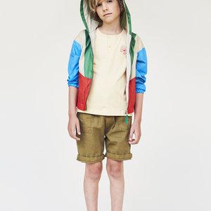 A Monday A Monday | Mio Anorak Jacket | Groen-rood-blauw