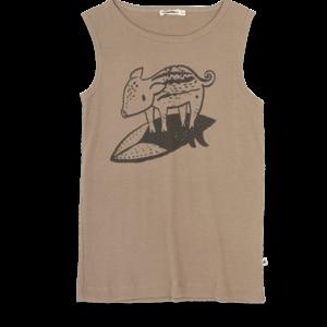 Ammehoela Ammehoela | Zion.03 | Tanktop | Surf Pig Grey