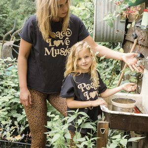 Ammehoela Ammehoela | Sunny.Mom | T-shirt Peace Love Music MOM