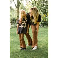 Ammehoela | Mom.05 | Flared pants Leopard MOM