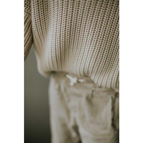 Yuki Kidswear Yuki | Chunky knit Sweater | Moon