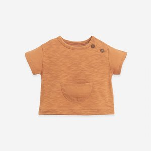 Play Up Play Up | Mixed T-Shirt | Rauqel brown