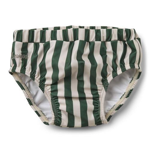 Liewood Liewood | Frej Baby swim pants | Zwembroekje UPF50 Green Stripe