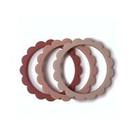 Mushie | Flower bracelet | Bijtspeeltjes armbanden