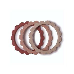 Mushie Mushie | Flower bracelet | Bijtspeeltjes armbanden