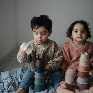 Mushie Mushie | Stacking cups | Stapeltoren Forrest