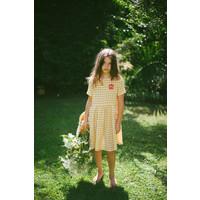Picnik | Chloé dress | Jurk geel ruitje