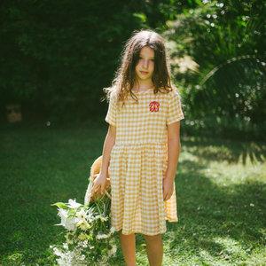 Picnik Picnik | Chloé dress | Jurk geel ruitje