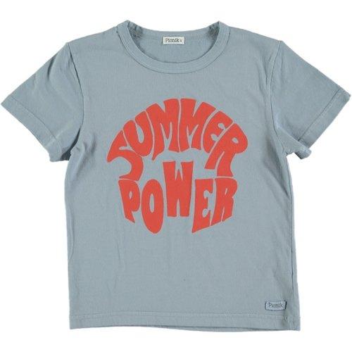 Picnik Picnik | T-shirt blauw Summer Power