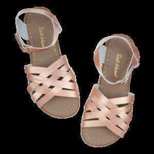 Salt-Water Salt-Water Sandals | Retro Child Rose Gold