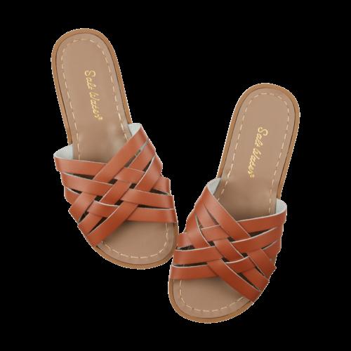 Salt-Water Salt-Water Sandals | Retro Silde Adult Tan