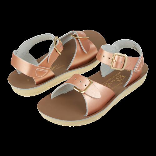 Salt-Water Salt-Water Sandals | Surfer Child Rose Gold