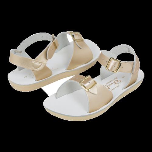Salt-Water Salt-Water Sandals | Surfer Youth Gold