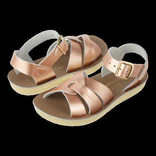 Salt-Water Salt-Water Sandals | Swimmer Child Rose Gold