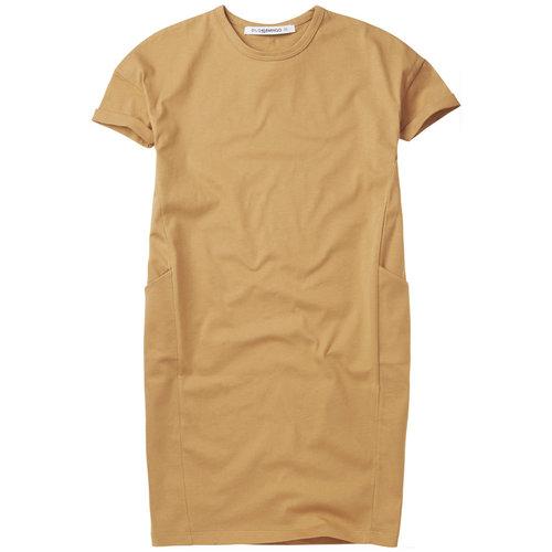 Mingo kids Mingo | T-shirt Dress | Jurk Light Ochre