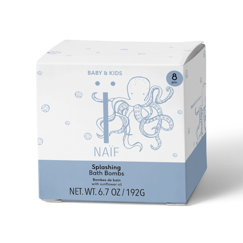 Naïf Naïf | Splashing Bath Bombs