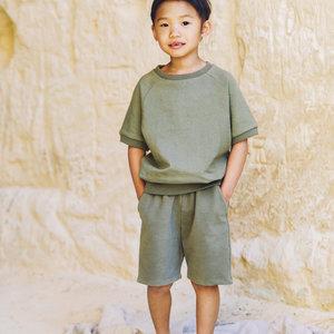 Mingo kids Mingo | Sweat Shorts | Sage Green