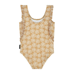 Daily Brat Daily Brat | Dolly swimsuit | Zwempak Sandstone met UPF50+