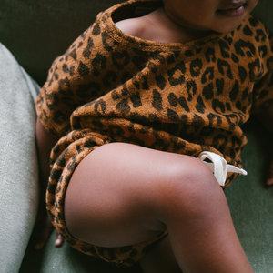 Daily Brat Daily Brat | Joe Leopard Suit | Jumpsuit Sandstone