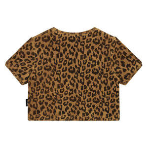 Daily Brat Daily Brat | Leopard Towel t-shirt | Terry Sandstone