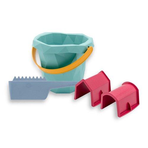 Zsilt Zsilt | Set met emmer, huis, schuur en schraper