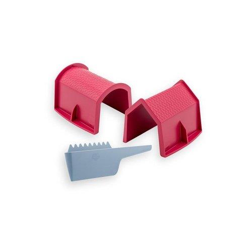 Zsilt Zsilt | Set met huis, schuur en schraper
