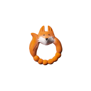 Natruba Natruba | Teether Fox | Bijtring Vos oranje